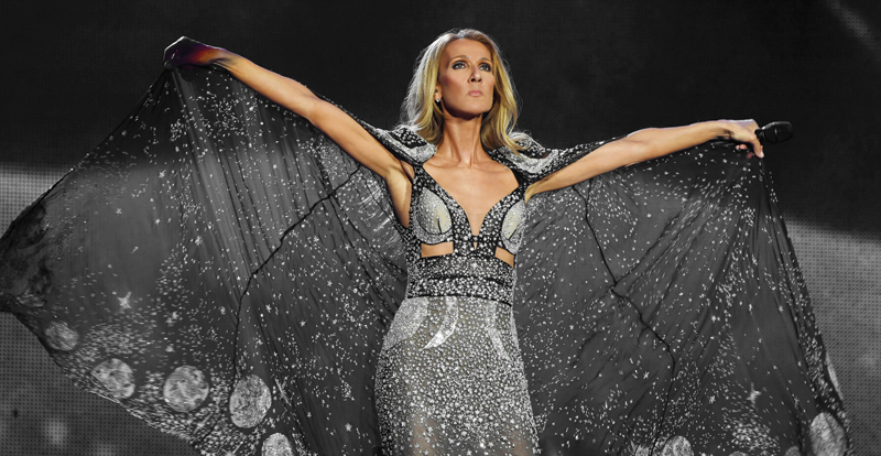 Celine Dion, 'Courage' review