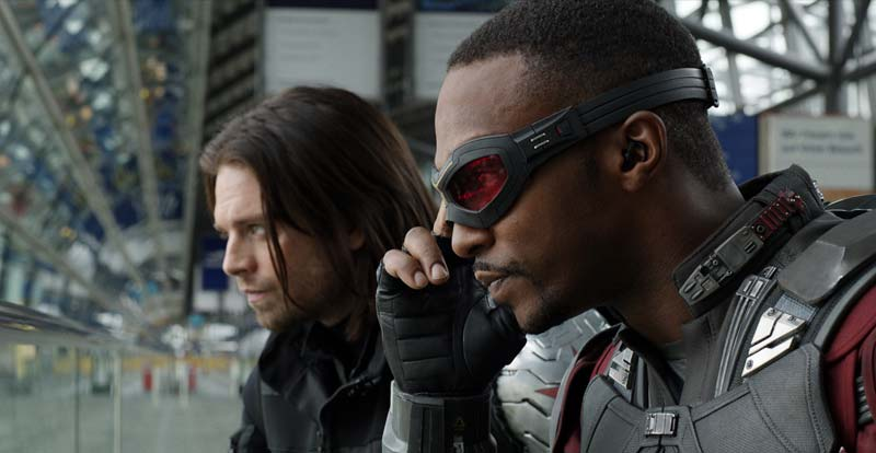 Marvel's The Falcon and the Winter Soldier gets going