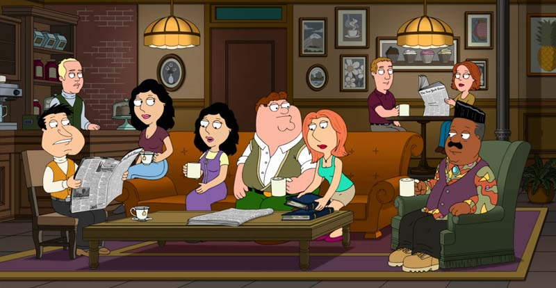 Family Guy does Friends