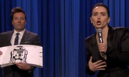 Daisy Ridley's Star Wars rap recap