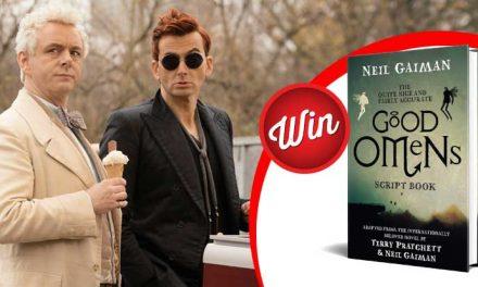 Win one of five Good Omens script books