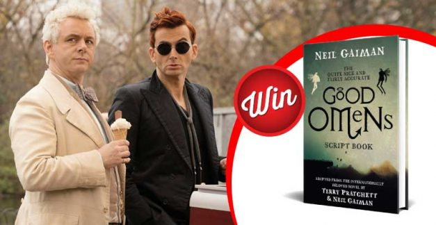Win one of five Good Omens script books