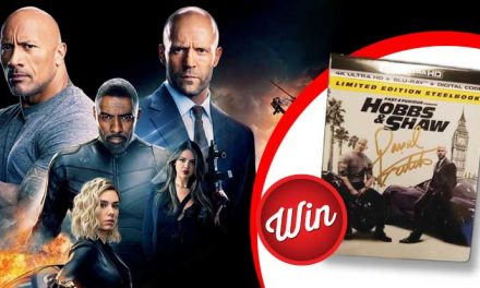 WIN a Fast & Furious: Hobbs & Shaw signed steelbook