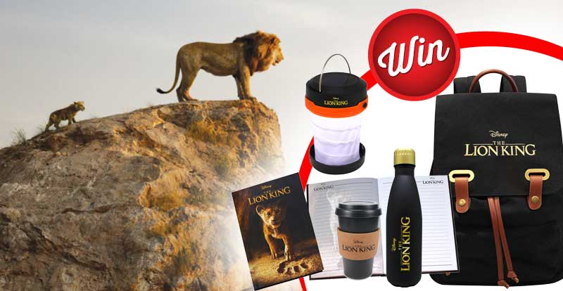 Win one of five The Lion King prize-packs