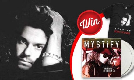 Win a Mystify: Michael Hutchence t-shirt and vinyl