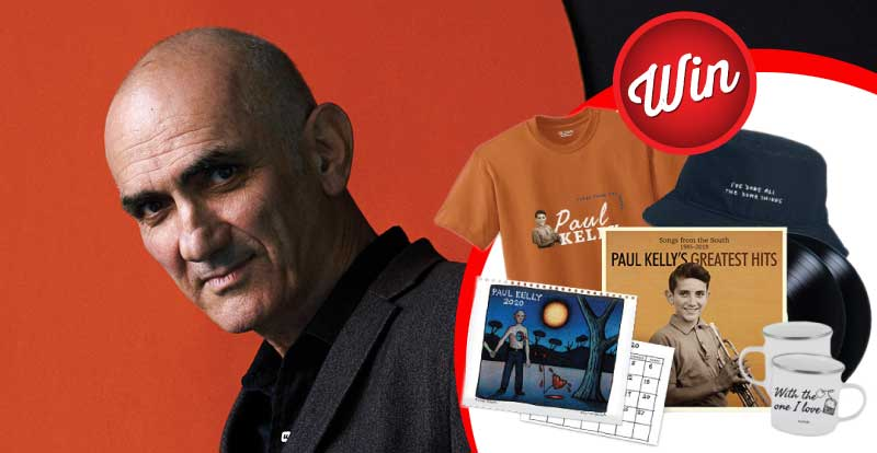 Win a Paul Kelly prize-pack
