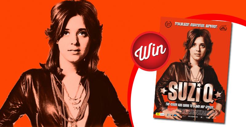 WIN tickets to see the new Suzi Q movie!