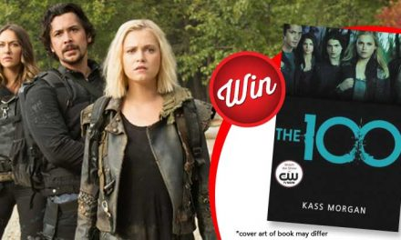 13 copies of The 100 by Kass Morgan to give away!