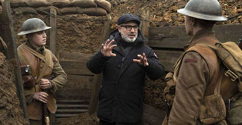 Go behind the scenes of 1917