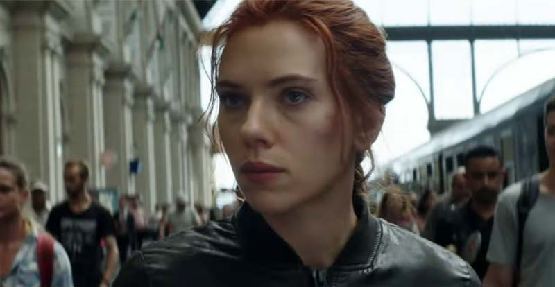 Pledge allegiance to Marvel's Black Widow