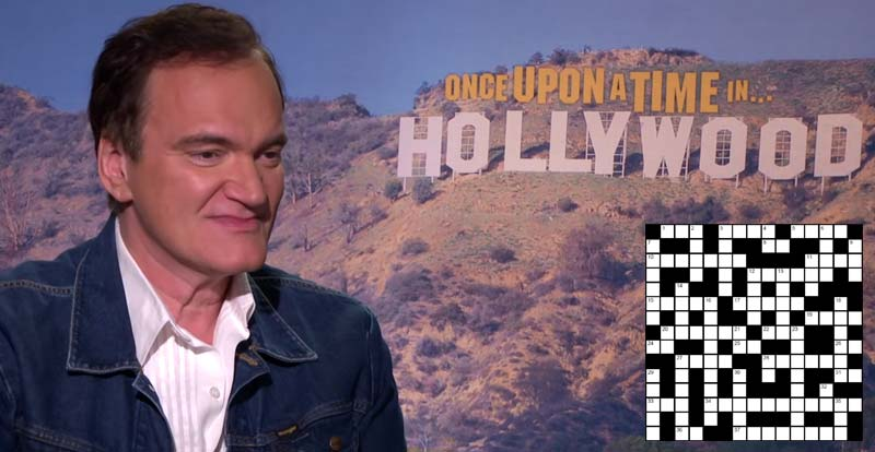 Say what?! It's a Quentin Tarantino crossword