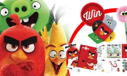 Grab an Angry Birds 2 prize!