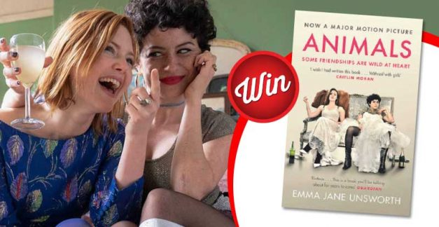 Win yourself a copy of Animals by E.J. Unsworth