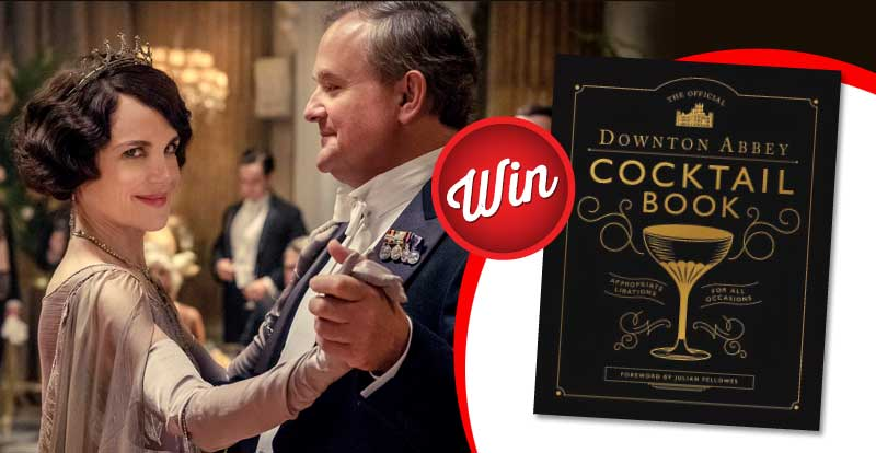 Enjoy a Downton Abbey Cocktail Book
