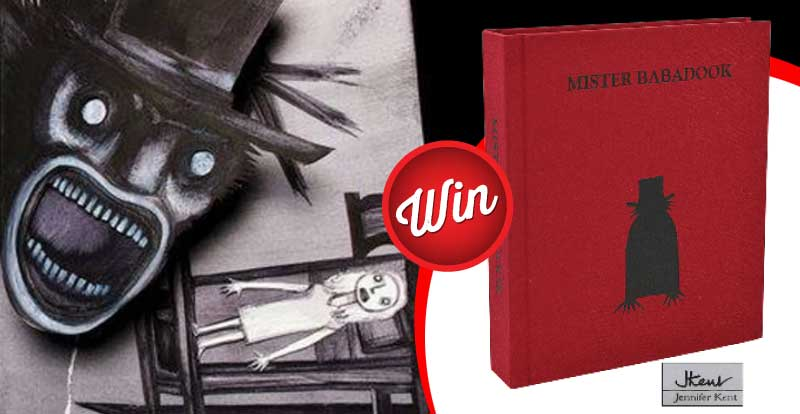 Win a rare J. Kent First Edition of Mister Babadook