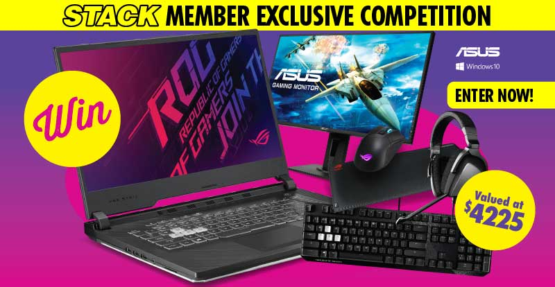 WIN the ultimate ASUS PC gaming pack!