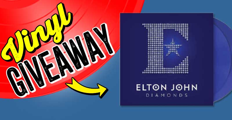 New release vinyl giveaway: Elton John, Diamonds