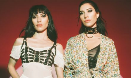 Watch the 'wall of death' during The Veronicas' Good Things set