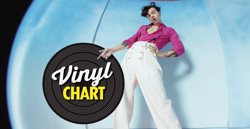 JB's vinyl chart (April 23 – 29, 2021)