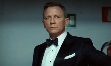 The line between Daniel Craig and James Bond