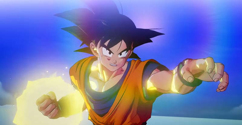 What's happening in Dragon Ball Z: Kakarot?