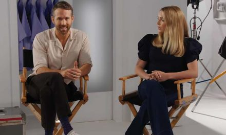 Ryan Reynolds and Jodie Comer on Free Guy
