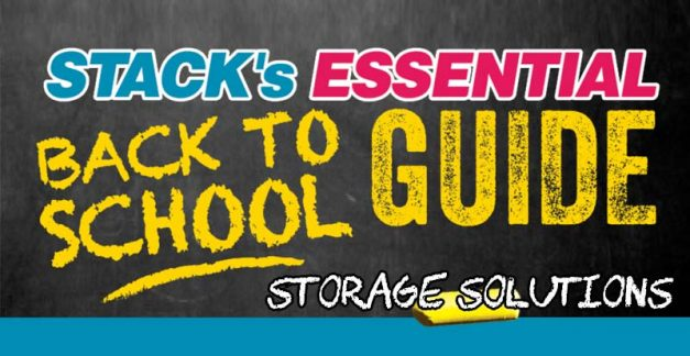 STACK's essential back to school guide – storage solutions