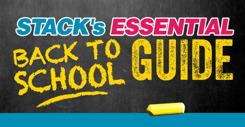STACK's essential back to school guide
