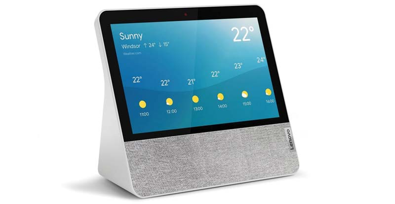 "Lenovo Smart Display 7"" with Google Assistant"