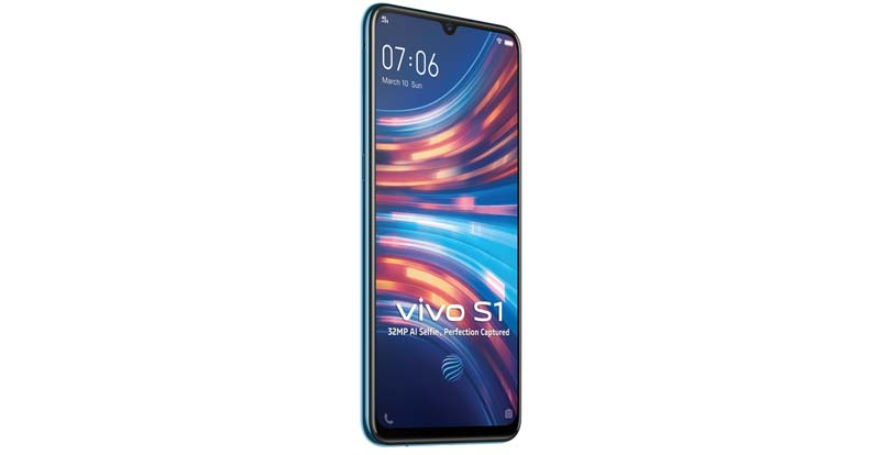Vivo S1 (purple or blue)