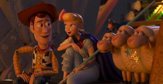 What was Bo Peep up to before Toy Story 4?