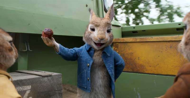 A new look at Peter Rabbit 2 bounds in