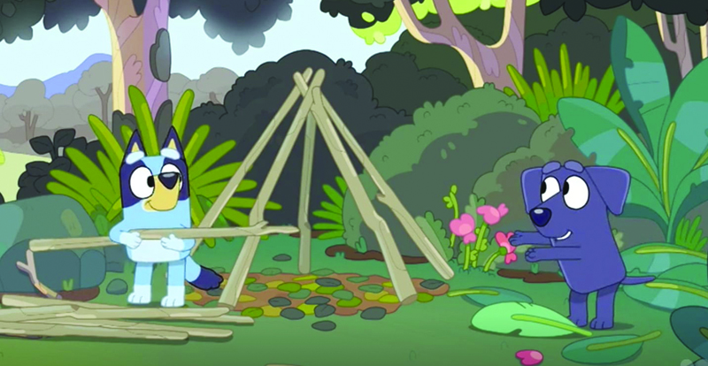 Bluey Vol.5 – Camping and other stories on DVD March 25