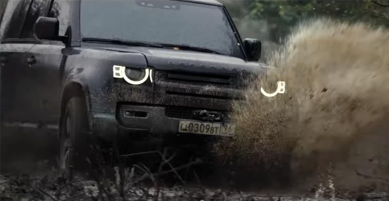Land Rover rolls over for James Bond
