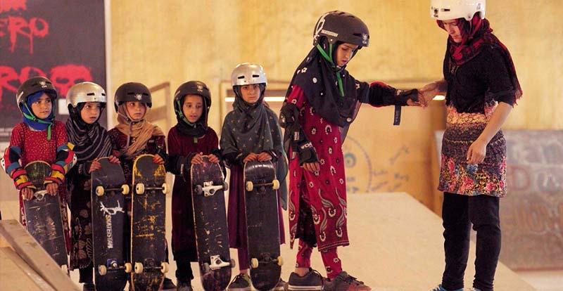Learning to Skateboard...