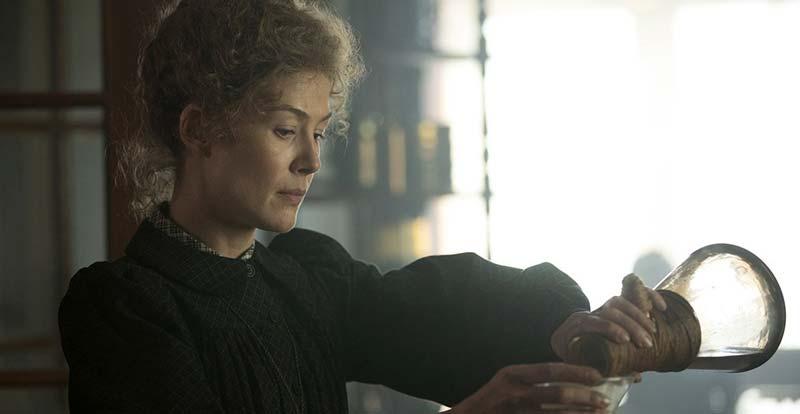 Rosamund Pike is Radioactive!