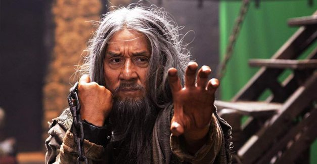 Jackie Chan meets Arnie in The Iron Mask