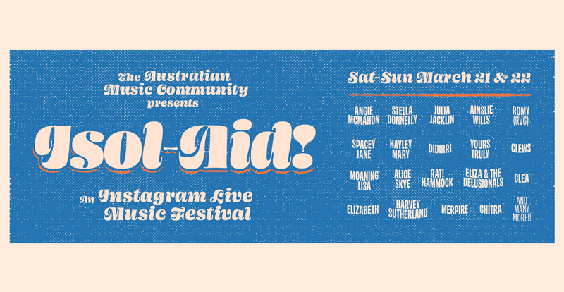 Tune in to socially-distanced Aussie music festival ISOL-AID