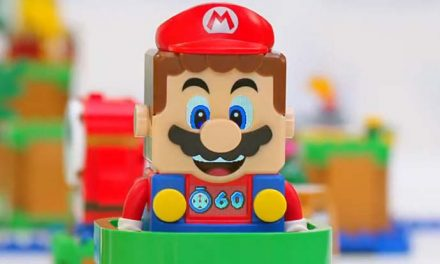 It's-a time for LEGO Super Mario!