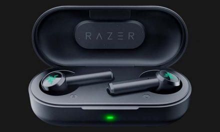 Playing with the Razer Hammerhead True Wireless earbuds