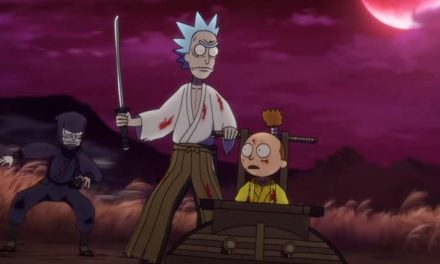 Go for a slash with this Rick & Morty anime