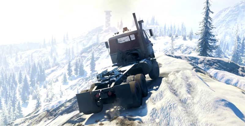 Head off-road in SnowRunner