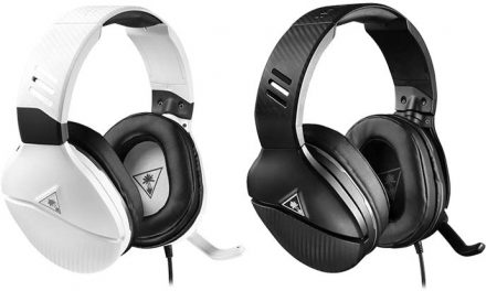 Playing with the Turtle Beach Recon 200 gaming headset