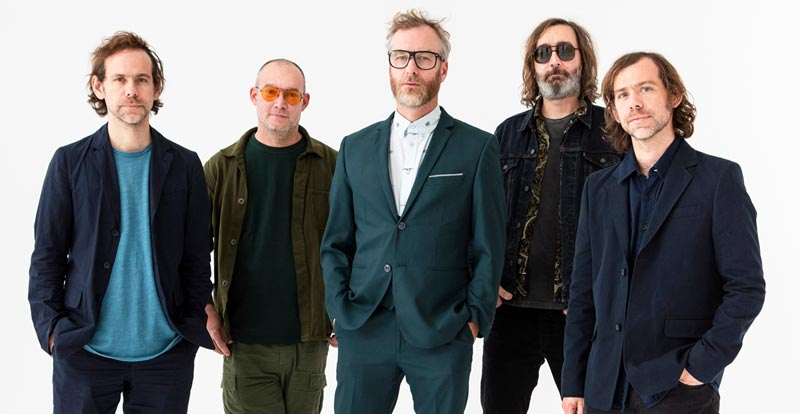 The National cover INXS' Never Tear Us Apart