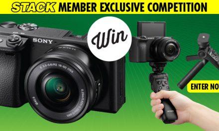WIN a Sony A6400 Camera Kit!