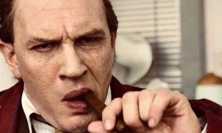 Tom Hardy is Al Capone