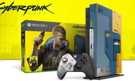 The Xbox One X goes Cyberpunk 2077