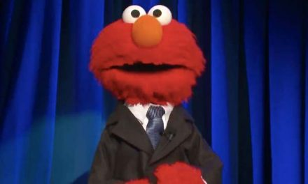 Elmo gets a tonight show