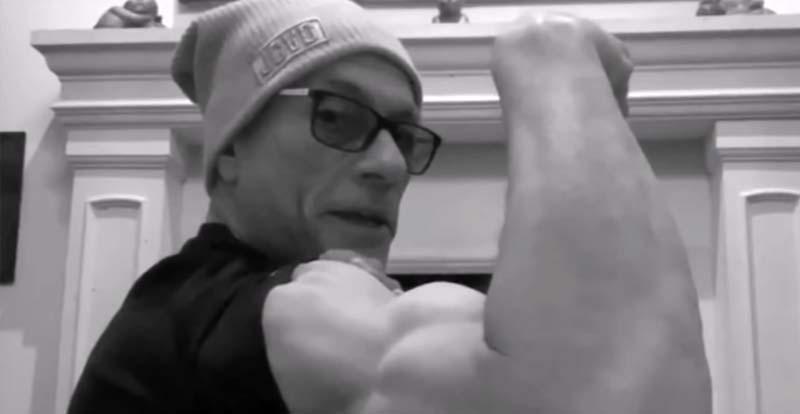 Keep fit the Van Damme way!
