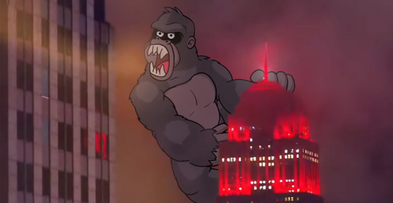 Even King Kong has to toe the line